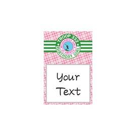 Table Sign: 4x6 Scout BUY