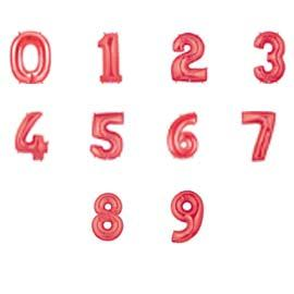 Balloon: Numbers Red BUY