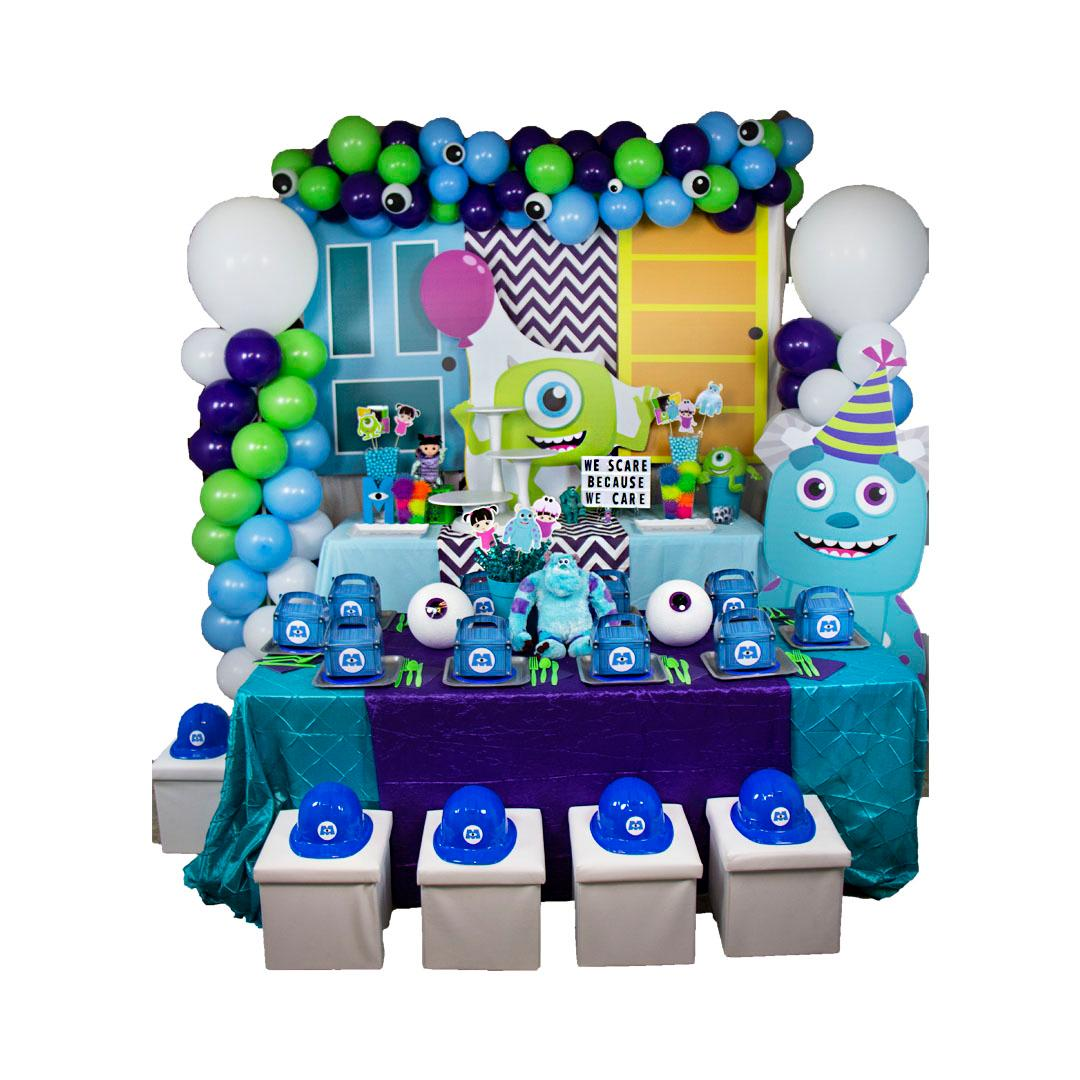 Monsters Kids Table Decor - Sully RENT