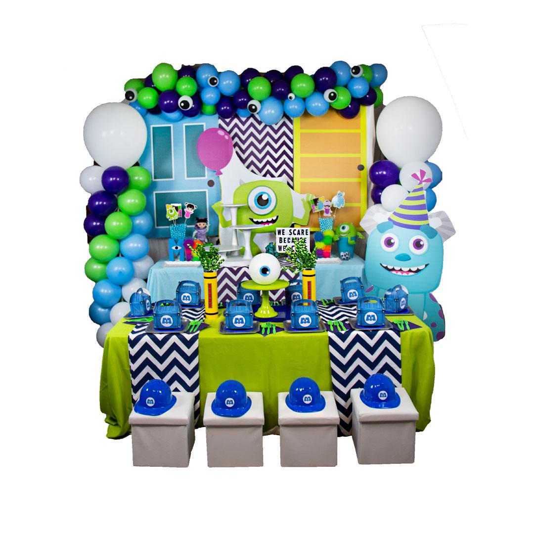 Monsters Kids Table Decor - Mike RENT