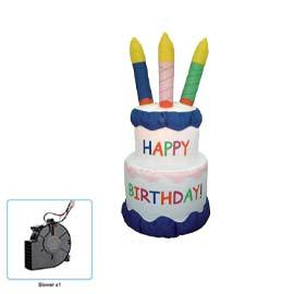 Inflatable: Cake White RENT