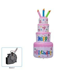 Inflatable: Cake Pink RENT