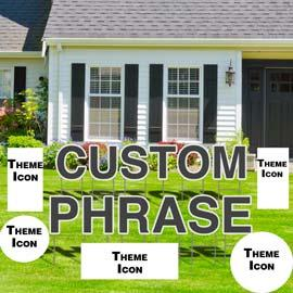 Yard Sign: Package RENT