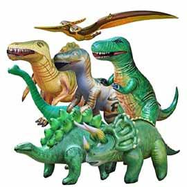 Dino: Inflatables 7pc RENT