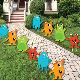 Monster: Yard Signs 10pc RENT