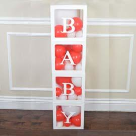 Prop: Baby Box: Clear: Red RENT