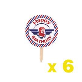 Cupcake Toppers: Aviation BUY