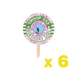 Cupcake Toppers: Scout BUY