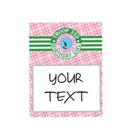Table Sign: 8x10: Scout BUY
