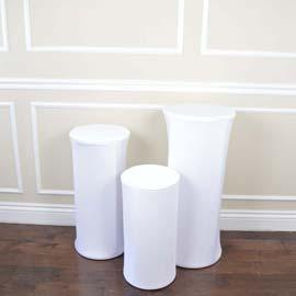 Display Stand: White (RENT)