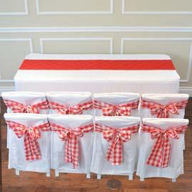 Cloth: Full: White & Red (RENT)