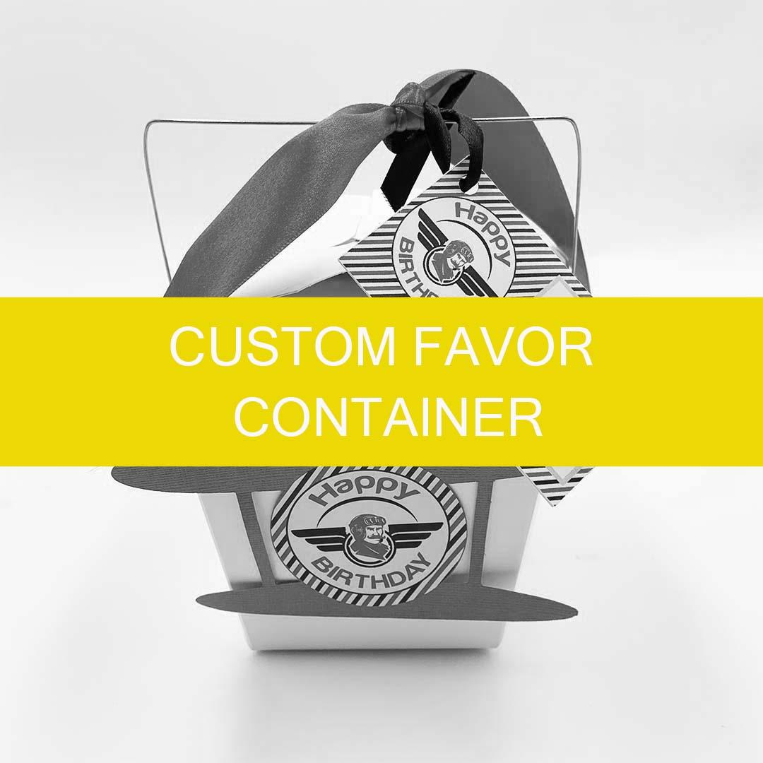 Custom Favor Container (BUY)