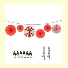 Party Line: Wall Red (RENT)